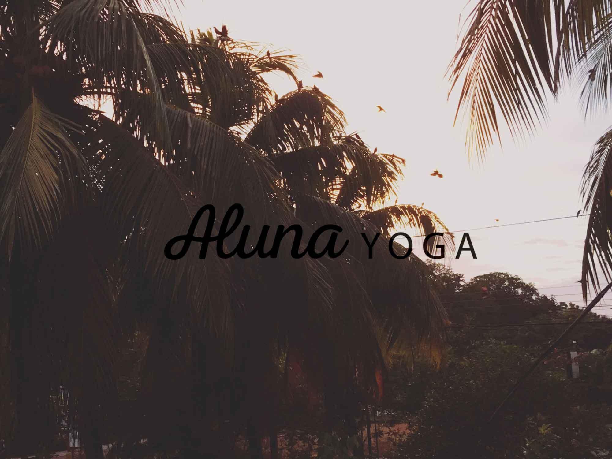 Corporate Design für Yogalehrerin Aluna YOGA