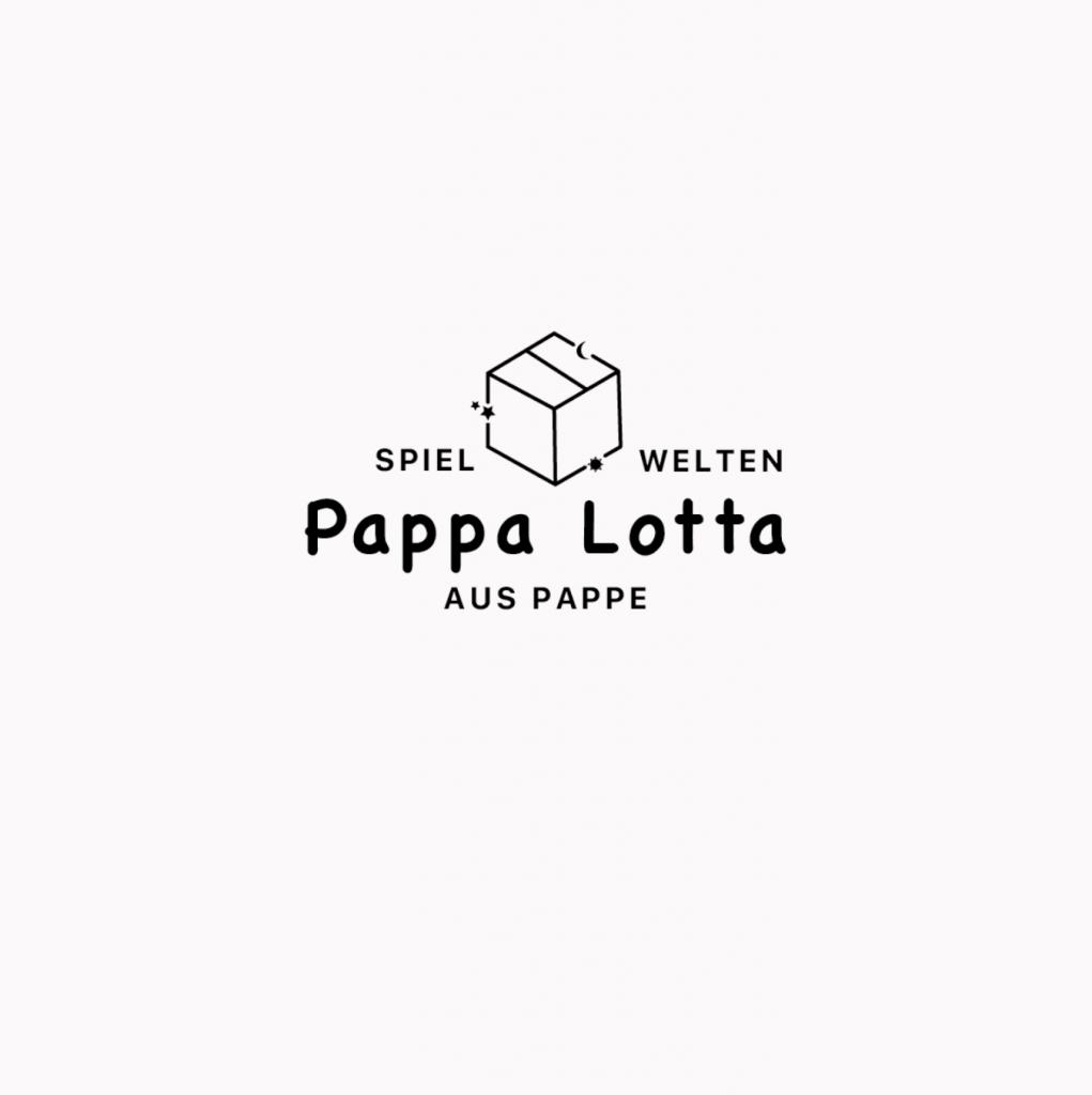 Markenlogo von Pappa Lotta, bisher erst eine Businessidee
